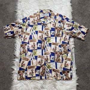 Reyn Spooner vintage golfers shirt